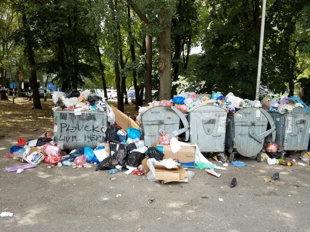 Хорор на Новом Београду: Ђубре затрпало вртић! (фото) 2
